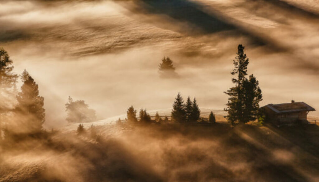 Dolomittes Morning Mist